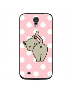 Coque Chat Chaton Pois pour Samsung Galaxy S4 - Maryline Cazenave
