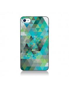 Coque Azteque Gheo Vert pour iPhone 4 et 4S - Javier Martinez