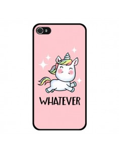 Coque iPhone 4 et 4S Licorne Whatever - Maryline Cazenave