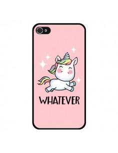 Coque iPhone 4 et 4S Licorne Whatever - Maryline Cazenave
