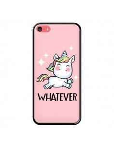 Coque iPhone 5C Licorne Whatever - Maryline Cazenave
