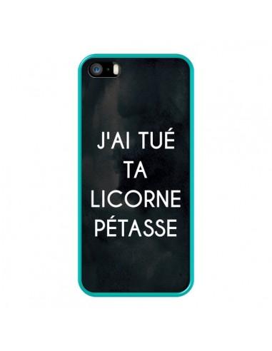 Coque iPhone 5/5S et SE J'ai tué ta...
