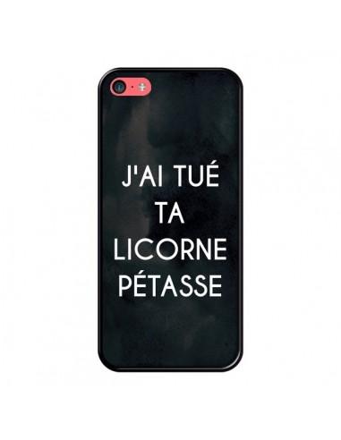 Coque iPhone 5C J'ai tué ta Licorne...