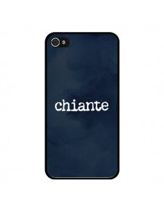 Coque iPhone 4 et 4S Chiante - Maryline Cazenave