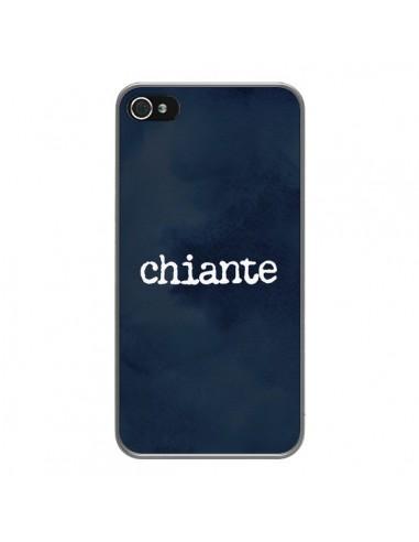 Coque iPhone 4 et 4S Chiante -...