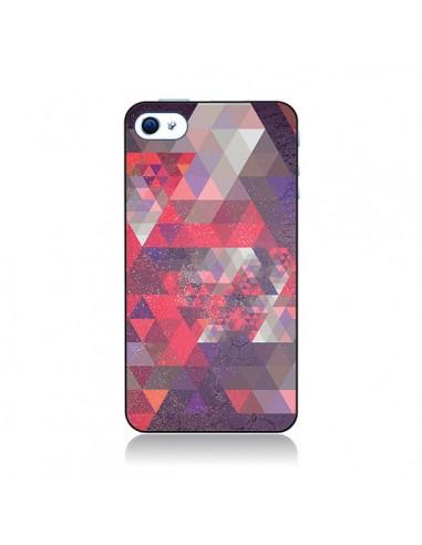 Coque Azteque Gheo Violet pour iPhone 4 et 4S - Javier Martinez