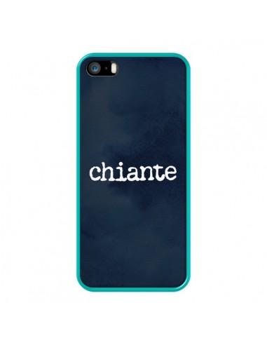 Coque iPhone 5/5S et SE Chiante -...