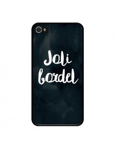 Coque iPhone 4 et 4S Joli Bordel - Maryline Cazenave