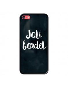 Coque iPhone 5C Joli Bordel - Maryline Cazenave
