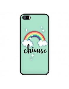 Coque Chieuse Arc en Ciel pour iPhone 5/5S et SE - Maryline Cazenave