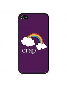 Coque iPhone 4 et 4S Crap Arc en Ciel - Maryline Cazenave