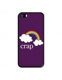 Coque iPhone 5/5S et SE Crap Arc en Ciel - Maryline Cazenave