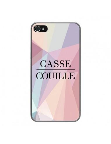 Coque iPhone 4 et 4S Casse Couille -...