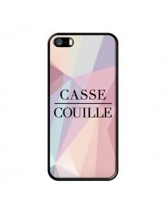 Coque iPhone 5/5S et SE Casse Couille - Maryline Cazenave