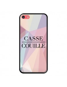 Coque iPhone 5C Casse Couille - Maryline Cazenave