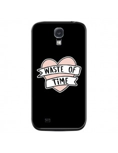 Coque Waste of Time Coeur pour Samsung Galaxy S4 - Maryline Cazenave
