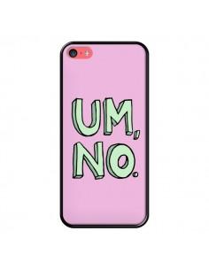 Coque iPhone 5C Um, No - Maryline Cazenave