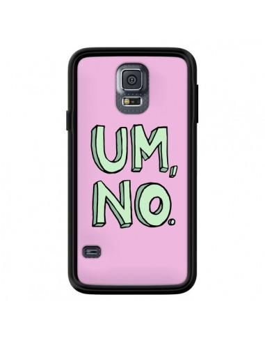 Coque Um, No pour Samsung Galaxy S5 - Maryline Cazenave