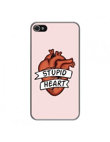 Coque iPhone 4 et 4S Stupid Heart...