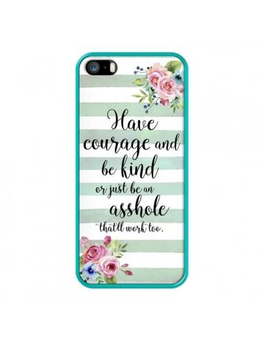 Coque iPhone 5/5S et SE Courage,...