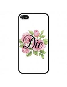 Coque iPhone 4 et 4S Die Fleurs - Maryline Cazenave