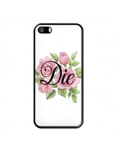 Coque iPhone 5/5S et SE Die Fleurs - Maryline Cazenave