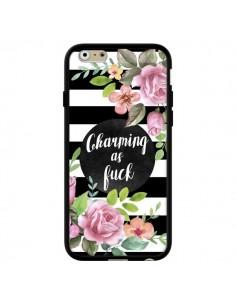 Coque iPhone 6 et 6S Charming as Fuck Fleurs - Maryline Cazenave