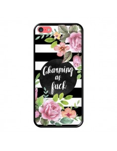 Coque iPhone 5C Charming as Fuck Fleurs - Maryline Cazenave