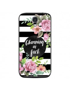 Coque Charming as Fuck Fleurs pour Samsung Galaxy S4 - Maryline Cazenave