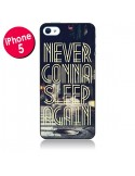 Coque Never Gonna Sleep New York City pour iPhone 5 - Javier Martinez