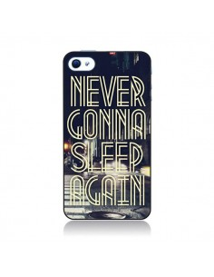 Coque Never Gonna Sleep New York City pour iPhone 4 et 4S - Javier Martinez