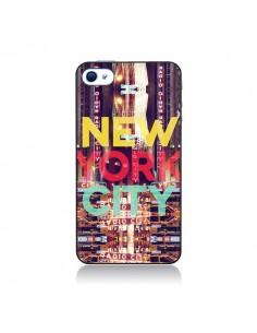 Coque New York City Buildings pour iPhone 4 et 4S - Javier Martinez