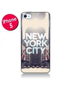 Coque New York City Vintage pour iPhone 5 - Javier Martinez