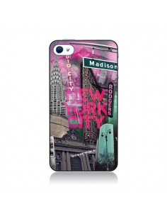 Coque New York City Rose pour iPhone 4 et 4S - Javier Martinez