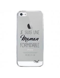 Coque Je suis une Maman Formidable Transparente pour iPhone 5/5S et SE - Chapo