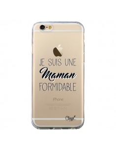 Coque Je suis une Maman Formidable Transparente pour iPhone 6 et 6S - Chapo