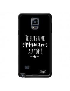 Coque Je suis une Maman au Top pour Samsung Galaxy Note 4 - Chapo