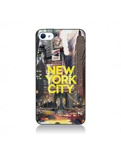 Coque New York City Jaune pour iPhone 4 et 4S - Javier Martinez