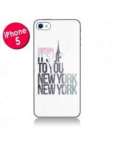 Coque Up To You New York City pour iPhone 5 - Javier Martinez