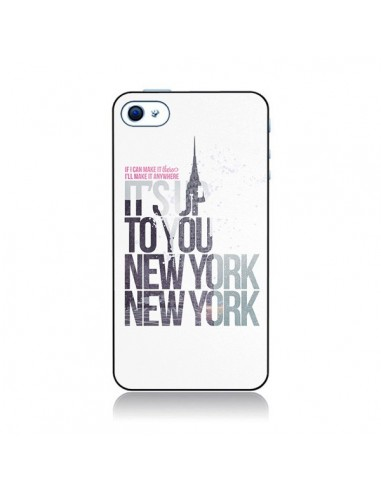 Coque Up To You New York City pour iPhone 4 et 4S - Javier Martinez