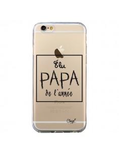 Coque iPhone 6 et 6S Elu Papa de l'Année Transparente - Chapo