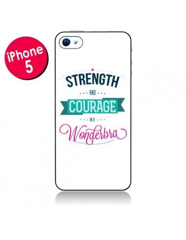 Coque Wonderbra Femme pour iPhone 5 - Javier Martinez