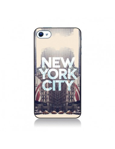 Coque New York City Vintage pour iPhone 4 et 4S - Javier Martinez