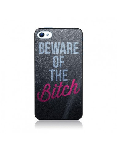 Coque Beware of the Bitch pour iPhone 4 et 4S - Javier Martinez
