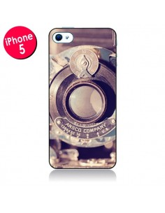 Coque Appareil Photo Vintage Findings pour iPhone 5 - Irene Sneddon