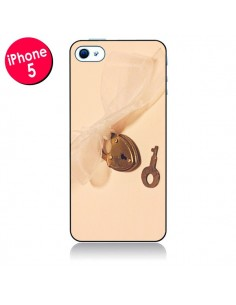 Coque Key to my heart Clef Amour pour iPhone 5 - Irene Sneddon