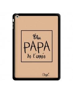 Coque Elu Papa de l'Année Beige pour iPad Air - Chapo
