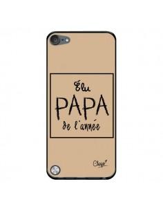 Coque Elu Papa de l'Année Beige pour iPod Touch 5/6 et 7 - Chapo