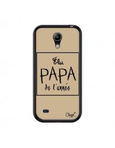 Coque Elu Papa de l'Année Beige pour Samsung Galaxy S4 Mini - Chapo