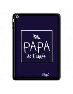 Coque Elu Papa de l'Année Bleu Marine pour iPad Air - Chapo